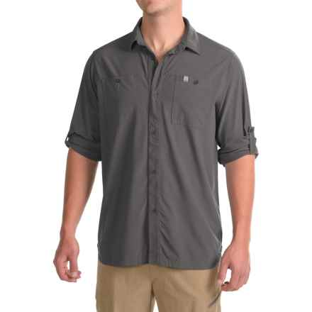 Avalanche Insect Shield® Timber Cove Shirt - Long Sleeve (For Men) in Asphalt - Closeouts