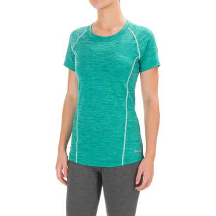 Avalanche Jolla T-Shirt - Short Sleeve (For Women) in Bright Teal Heather - Closeouts