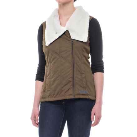 Avalanche Juliette Vest - Insulated (For Women) in Walnut/Pearl - Closeouts