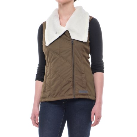 Avalanche Juliette Vest - Insulated (For Women) in Walnut/Pearl