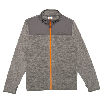 6772b3143f446 Avalanche Leon Space-Dyed Jacket (For Big Boys) in Castle Rock - Closeouts