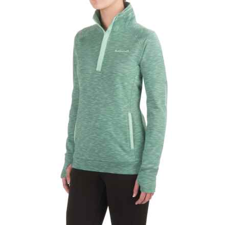 Avalanche Loma Shirt - Snap Neck, Long Sleeve (For Women) in Beryl Green - Closeouts