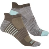 Avalanche Low-Cut Tab Socks - 2-Pack, Below the Ankle (For Women)