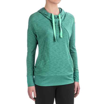 Avalanche Mahatta Hoodie (For Women) in Beryl Green - Closeouts