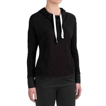 Avalanche Mahatta Hoodie (For Women) in Black - Closeouts