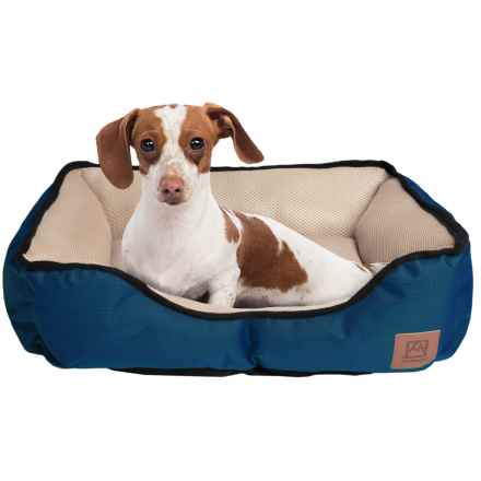 """Avalanche Mesh Dog Bed - 20x16"""" in Navy - Closeouts"""