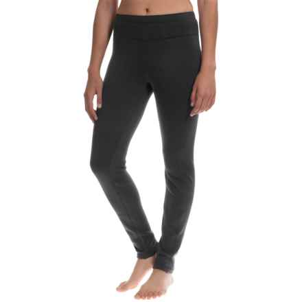 Avalanche Mogul Fleece Base Layer Leggings (For Women) in Black - Closeouts
