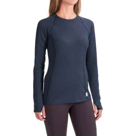 Avalanche Mont Blanc Base Layer Top - Long Sleeve (For Women) in Indigo - Closeouts