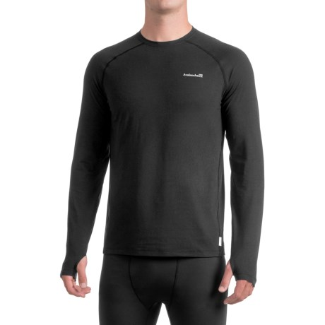 Avalanche Mont Blanc Shirt - Long Sleeve (For Men) in Black