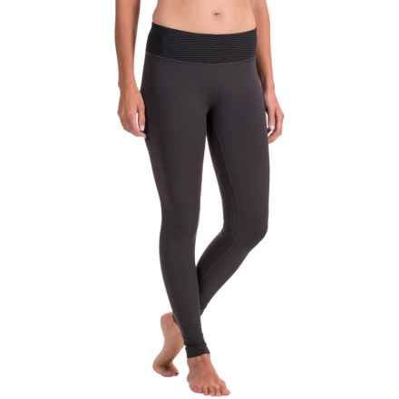 Avalanche Mont Blanca Base Layer Pants (For Women) in Asphalt - Closeouts