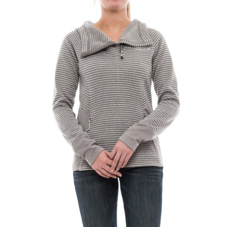 Avalanche Morgan Hooded Sweater - Zip Neck (For Women)