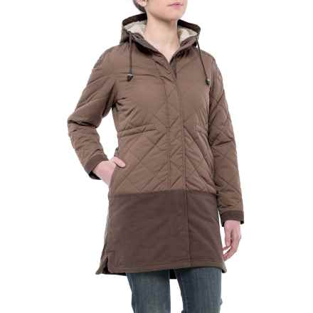 Avalanche Moss Parka - Insulated (For Women) in Walnut/Coffee Bean/Silver Grey - Closeouts