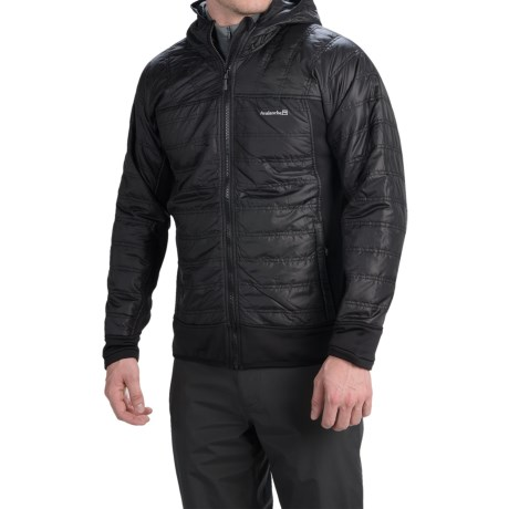 Avalanche Outcross Hybrid Jacket - Insulated (For Men) in Black