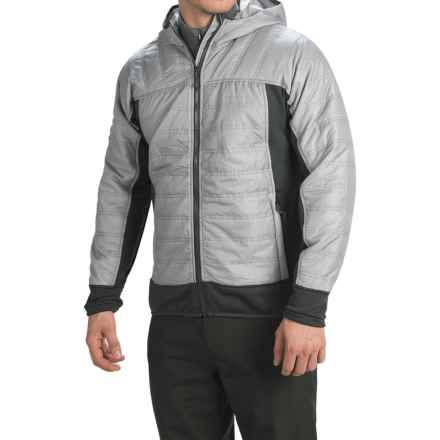 Avalanche Outcross Hybrid Jacket - Insulated (For Men) in Silver Grey - Closeouts