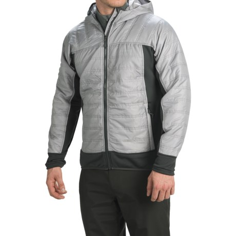 Avalanche Outcross Hybrid Jacket - Insulated (For Men) in Silver Grey