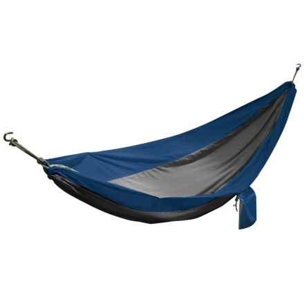 Avalanche Outdoor Camping Hammock - 1-Person in Blue/Gray