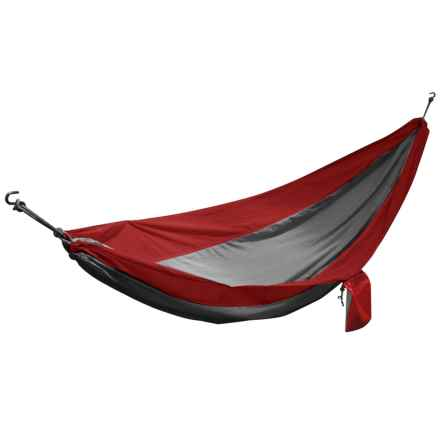 Avalanche Outdoor Camping Hammock - 1-Person in Red - Closeouts