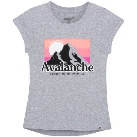 32ffd4f52 Avalanche Outdoor Inspired Graphic T-Shirt - Short Sleeve (For Big Girls) in