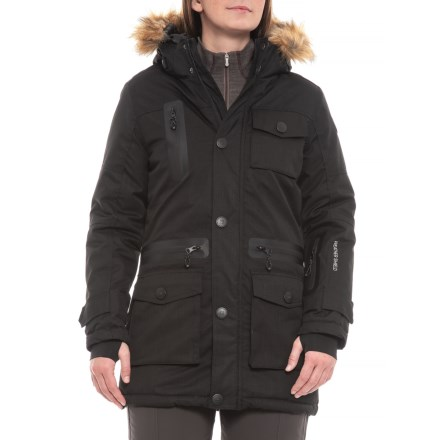 6700883bba9 Avalanche Parka Ski Jacket - Insulated (For Women) in Black - Closeouts