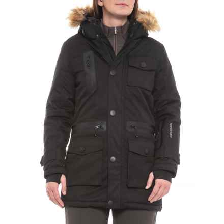 Avalanche Parka Ski Jacket - Insulated (For Women) in Black - Closeouts