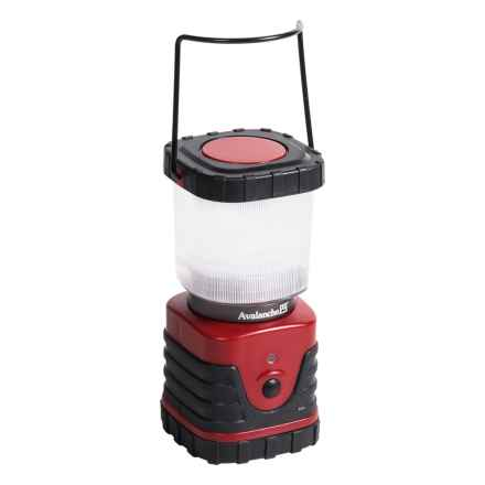 Avalanche Portable Outdoor Lantern - 300 Lumens in Red - Closeouts