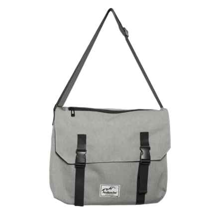 Avalanche Quincy Messenger Bag in Grey - Closeouts