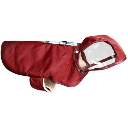 Avalanche Reflective Dog Rain Coat in Red - Closeouts