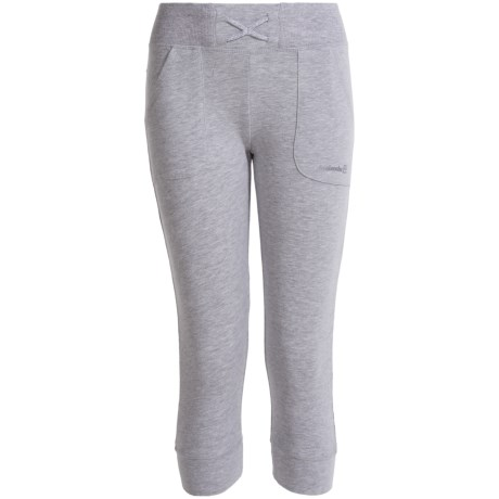 Avalanche Senna Capri Joggers (For Girls) in Heather Grey