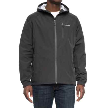 Avalanche Sentinel Hooded Rain Jacket - Waterproof (For Men) in Pirate Black/Pirate Black - Closeouts