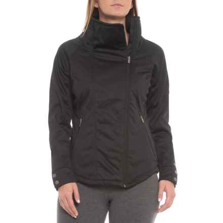 Avalanche Shadow Soft Shell Jacket (For Women) in Black - Closeouts