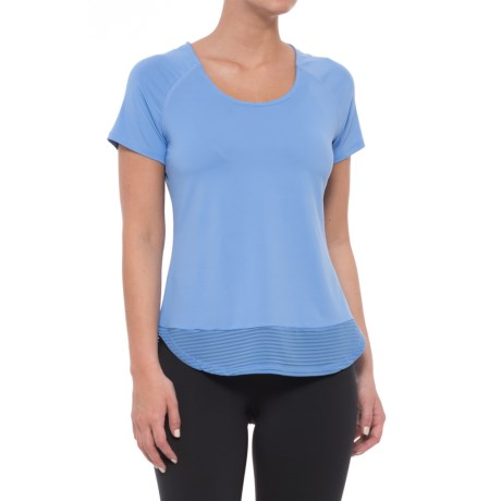 Avalanche Solare T-Shirt - Short Sleeve  (For Women) in Hydrangea