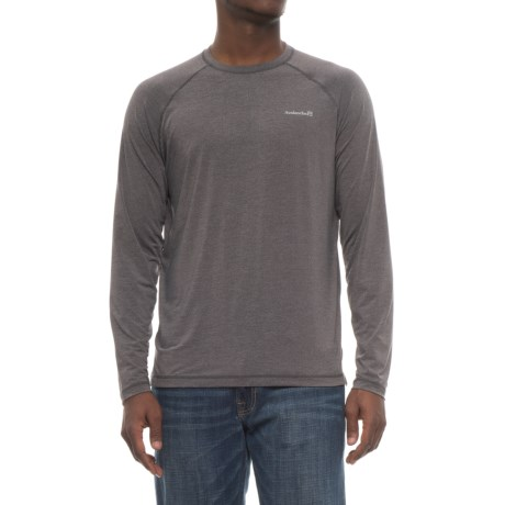 Avalanche Sun Protect Quick Dry T-Shirt - UPF 50+, Long Sleeve (For Men) in Asphalt