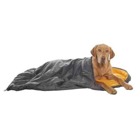 "Avalanche Travelite Dog Sleeping Bag - 25x42"" in Orange - Closeouts"