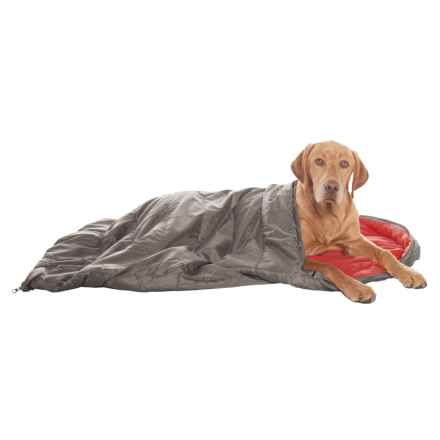 "Avalanche Travelite Dog Sleeping Bag - 25x42"" in Red - Closeouts"