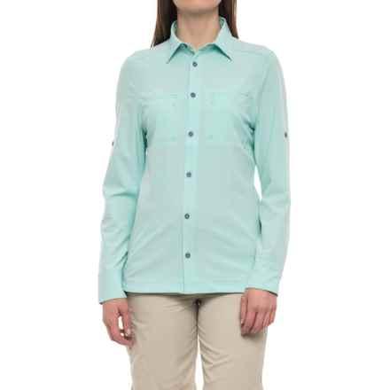 Avalanche Trektrail No Fly Zone Shirt - UPF 50+, Long Sleeve (For Women) in Eggshell - Closeouts