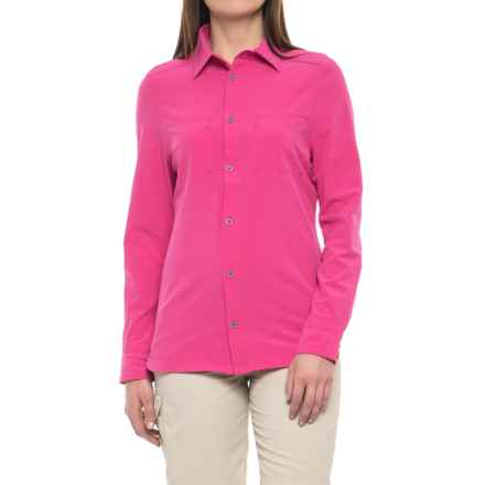 Avalanche Trektrail No Fly Zone Shirt - UPF 50+, Long Sleeve (For Women) in Pink Ginger - Closeouts