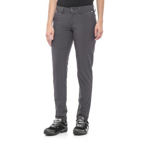 Avalanche Trektrail Stretch Pants - UPF 30+ (For Women) in Asphalt