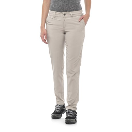 Avalanche Trektrail Stretch Pants - UPF 30+ (For Women) in Taupe