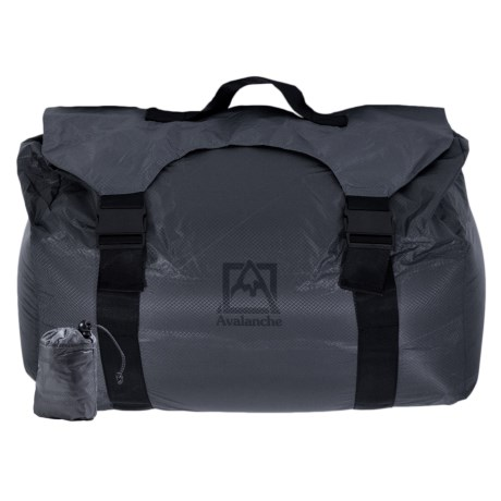 Avalanche Ultralight Packable Duffel Bag in Grey