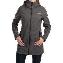 Avalanche Wear Aubrey Hooded Coat (For Women) in Asphalt - Closeouts