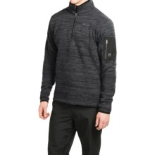 Avalanche Wear Aura Fleece Pullover Shirt - Zip Neck, Long Sleeve (For Men) in Black - Closeouts