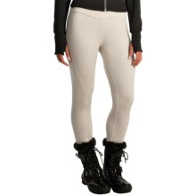 Avalanche Wear Aurora Fleece Leggings (For Women) in Pearl Spacedye - Closeouts