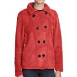 Avalanche Wear Boston Pea Coat - Fleece (For Women)