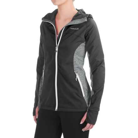 Avalanche Wear Brieza Wind Jacket (For Women) in Asphalt - Closeouts