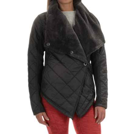 Avalanche Wear Cache Jacket - Insulated (For Women) in Black - Closeouts