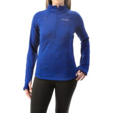 Avalanche Wear Calypso Pullover Shirt - Zip Neck (For Women) in Ink Melange - Closeouts