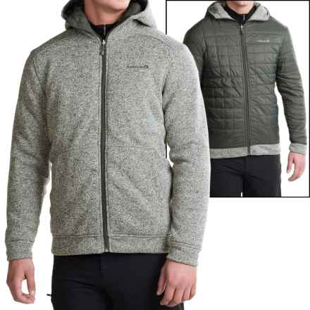 Avalanche Wear Capitol Hooded Jacket- Reversible, Insulated (For Men) in Charcoal - Closeouts