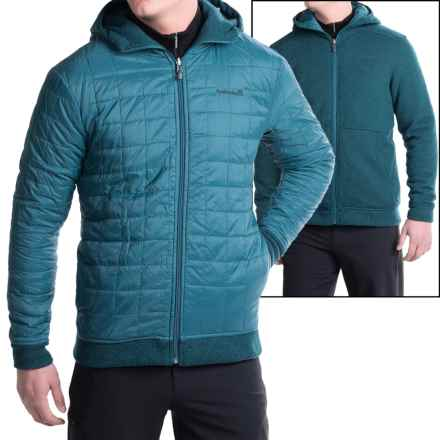 Avalanche Wear Capitol Hooded Jacket- Reversible, Insulated (For Men) in Moroccan Blue - Closeouts
