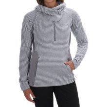 Avalanche Wear Cascade Hooded Sweater - Zip Neck (For Women) in Quick Silver - Closeouts
