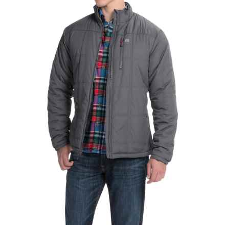 Avalanche Wear City Jacket - Insulated (For Men) in Asphalt/Crimson - Closeouts